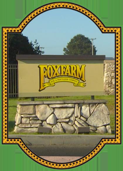Frame Foxfarm Sign